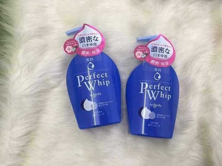 SỮA TẮM SHISEIDO PERFECT WHIP FOR BODY - 500ML