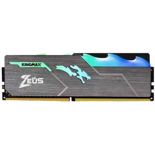 RAM DDR4 8GB Kingmax Bus 3200Mhz Heatsink Zeus RGB