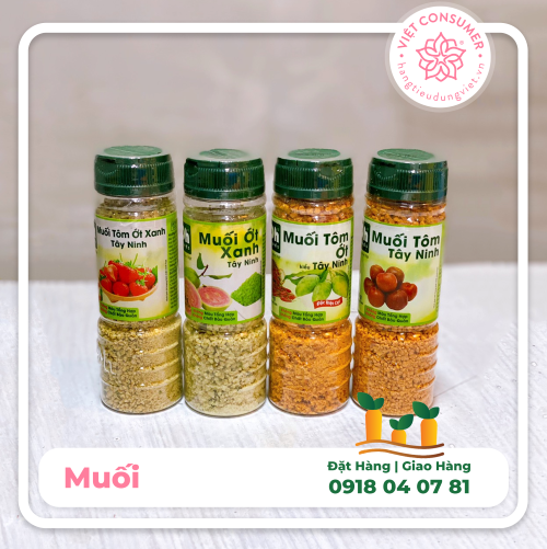 Muối ớt hột DH Foods 120g