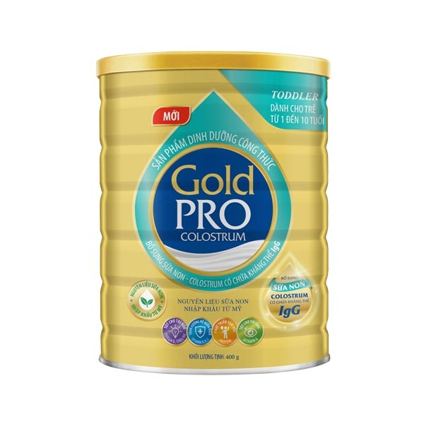 GOLD PRO COLOSTRUM TODDLER - 400G