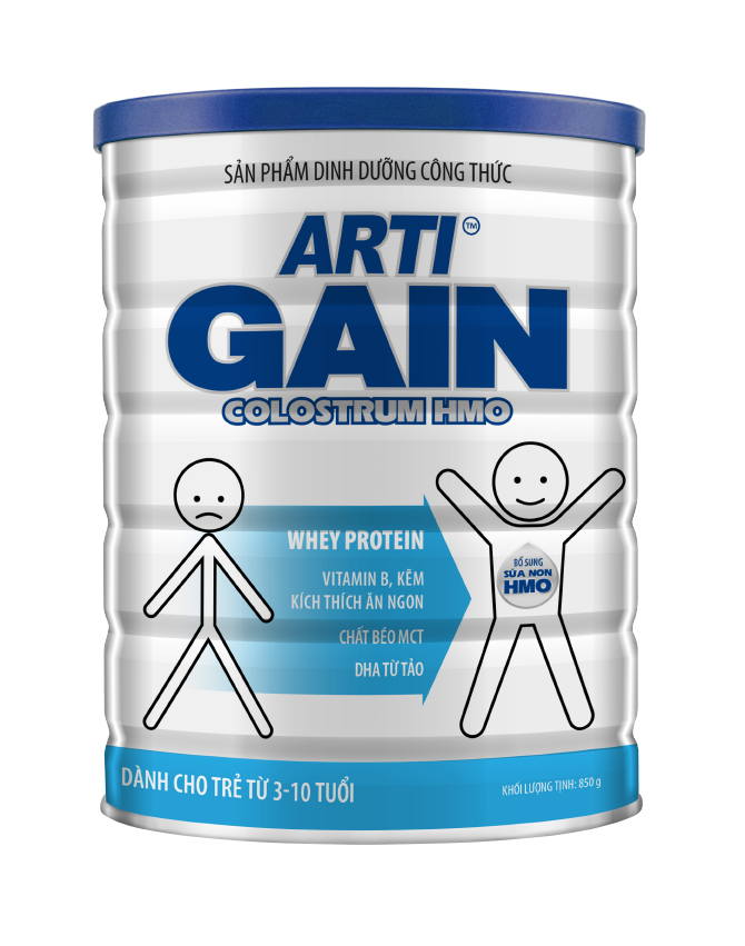 ARTI GAIN COLOSTRUM HMO 3-10 TUỔI - 850G