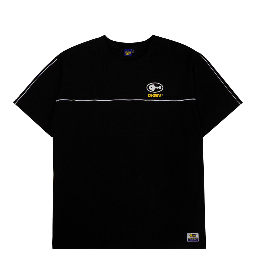 áo thun local brand đẹp dkmv black highlight tee streetwear