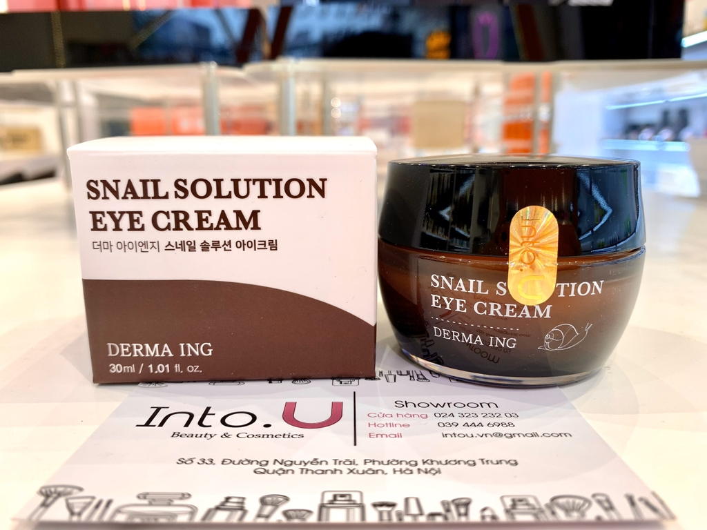 Kem mắt JUNGNANI DERMA I.N.G. SNAIL SOLUTION EYE CREAM