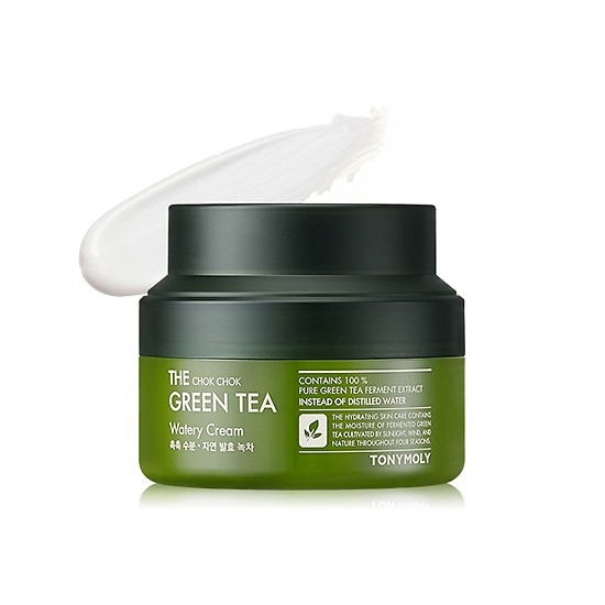 Kem dưỡng ẩm TONYMOLY The Chok Chok Green Tea Watery Cream