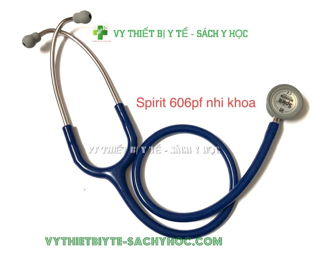 Ống nghe spirit nhi 606pf /Ống nghe y tế 2 mặt dòng Deluxe CK-S606PF  Vythietbiyte-sachyhoc