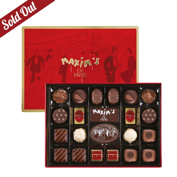 RED TIN - 22 ASSORTED CHOCOLATES