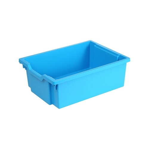 Gratnells Deep Tray, CyanBlue (Pack of 4)