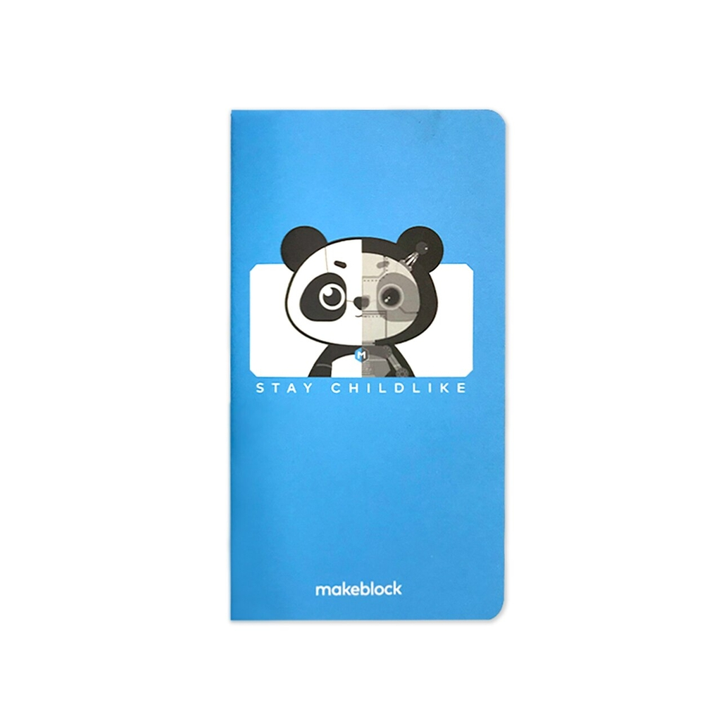 Makeblock custom notebook_ mascots version - Sổ tay in logo Makeblock