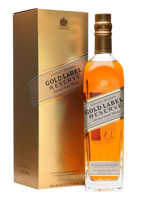Rượu Whisky Johnnie Walker Gold Label Reserve