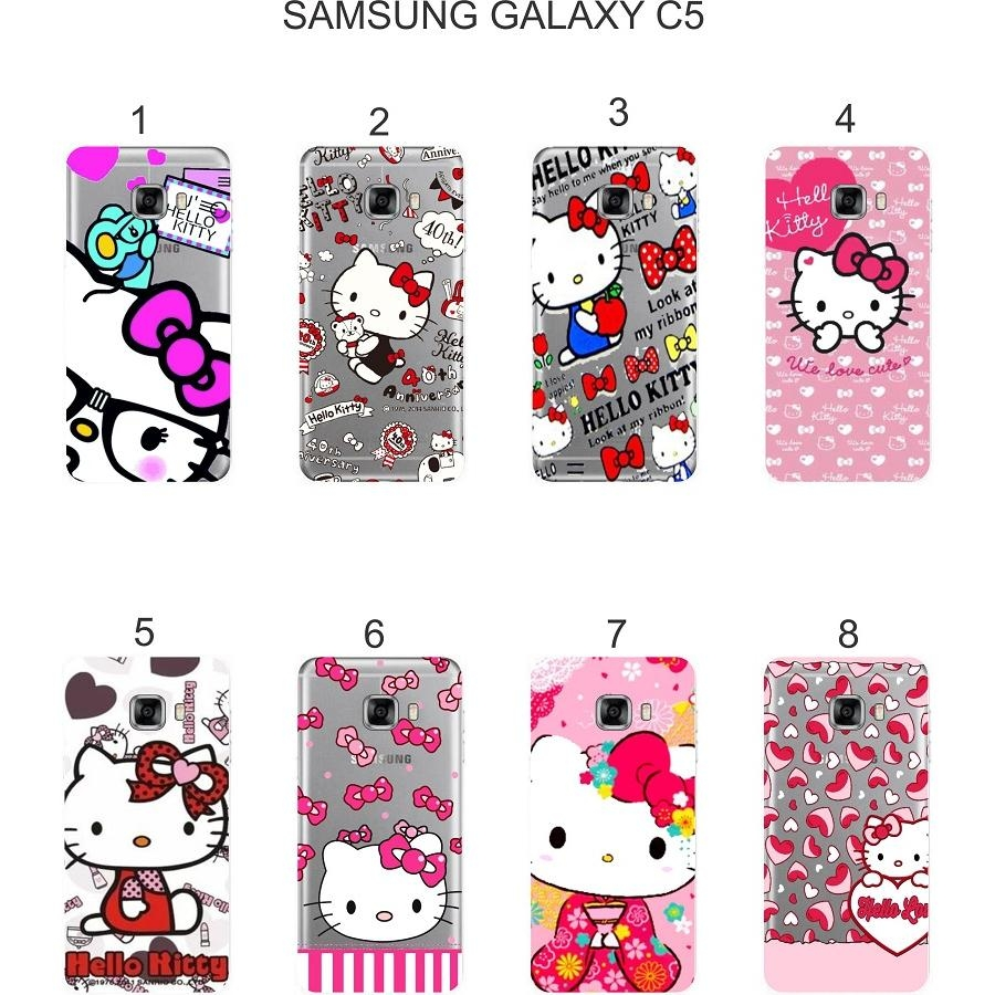Ốp lưng Samsung Galaxy C5 in hình Kitty