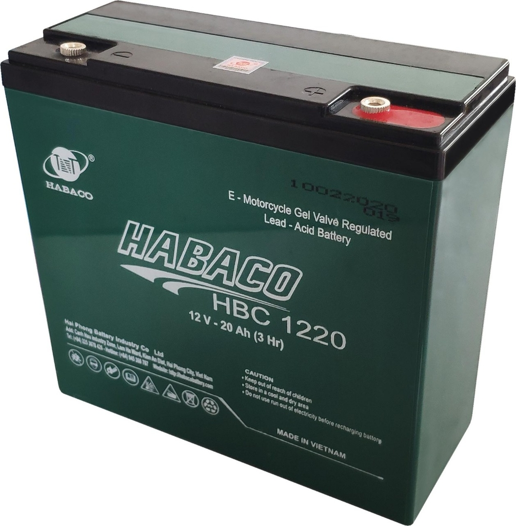 Ắc quy Habaco – HBC1220 (12v-20ah)