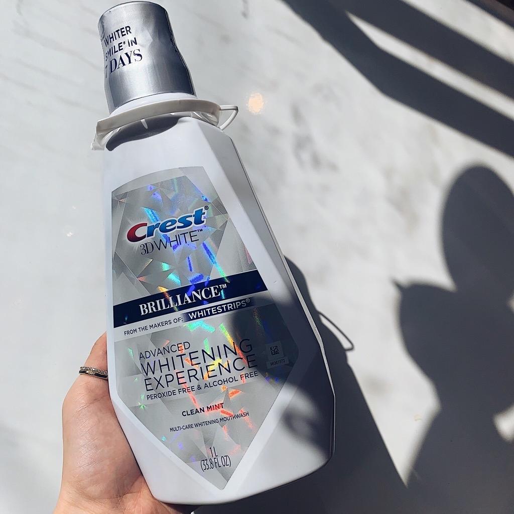 Nước súc miệng trắng răng chắc nướu 3D White Crest Her&Him Perfume