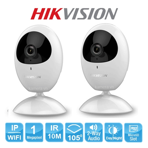 Camera Wifi Hikvision DS-2CV2U01EFD-IW(1M)
