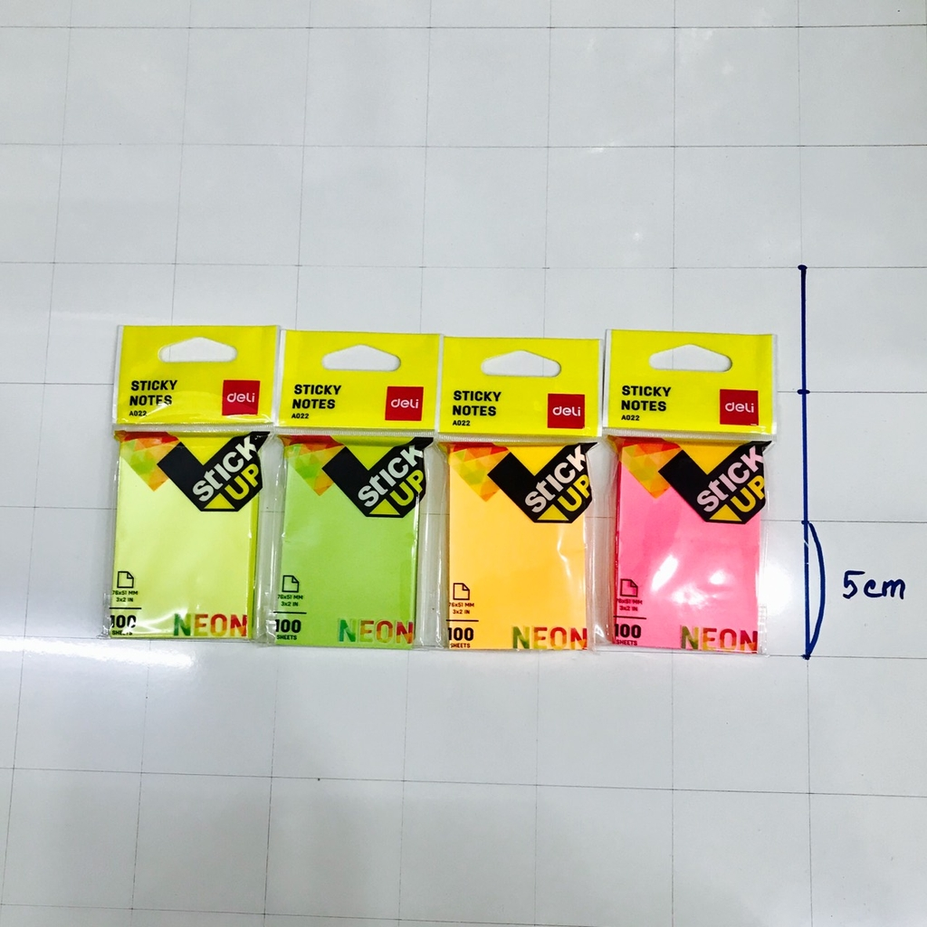 Giấy note 76x51mm Deli EA02202