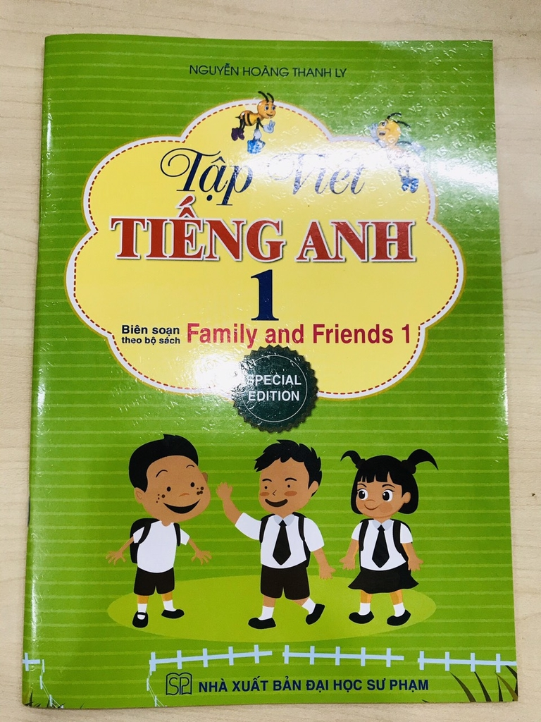 tap viet tieng anh theo giao trinh Family and Friends