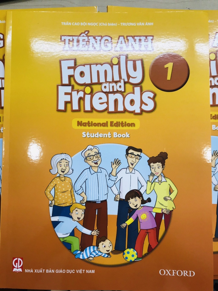 Sách Family and Friends 1 (National Edition) 2020 - Student book