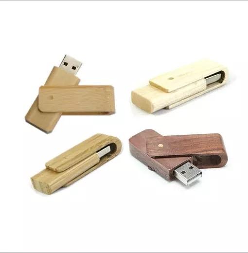 USB GỖ DẠNG XOAY