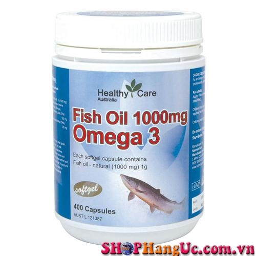 Dầu cá Omega 3 Healthy Care 1000mg