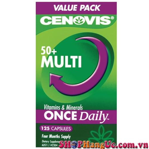 Vitamin Cennovis Multi 50+