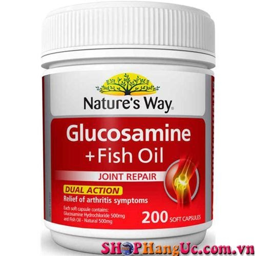 Nature's Way Glucosamine + Fish Oil