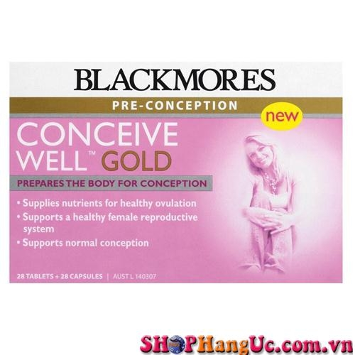 Blackmores Conveice Well Gold 56 viên