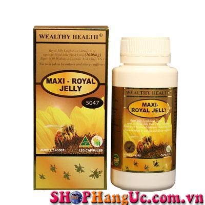 Sữa ong chúa Maxi Royal Jelly Wealthy Health