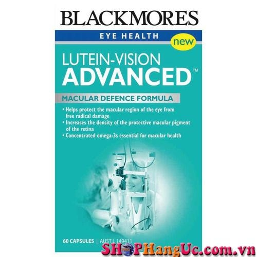 Thuốc bổ mắt Blackmores Lutein-Vision Advanced