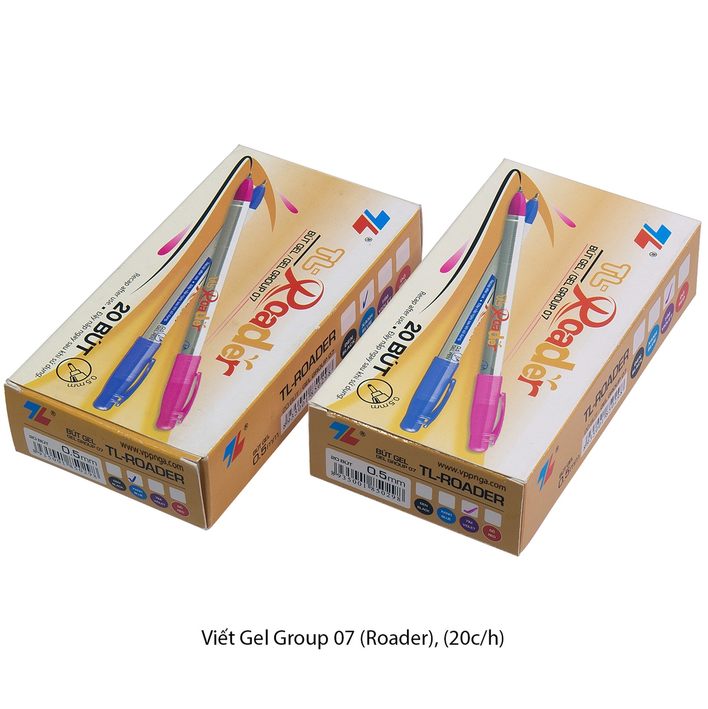 Viết Gel Group 07 (Roader) {20c/h} tím