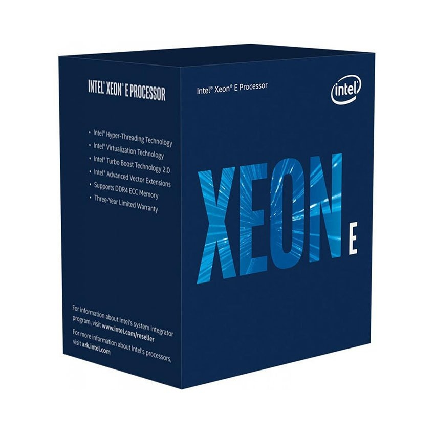 CPU Intel Xeon E-2236 (3.4GHz turbo up to 4.8GHz, 6 nhân, 12 luồng, 12 MB Cache, 80W)