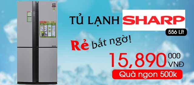 tu lanh sharp 556l
