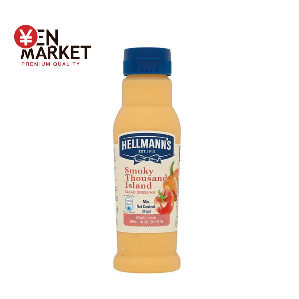 Sốt salad Smoky Thousand Island  - Vegan -Hellmann's -  Phillipines - 210ml