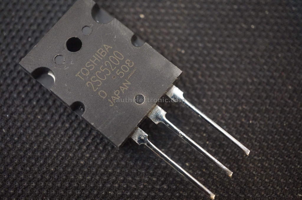 set of 2 2SC5200 Toshiba Transistor NPN TOP3 230V 15A Toshiba