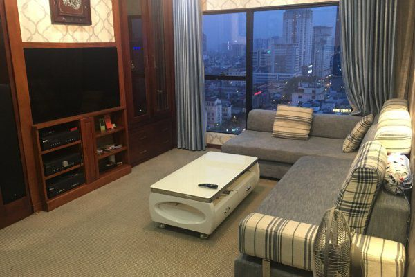 Apartment for rent in Ngoc Khanh Plaza, Ha Noi