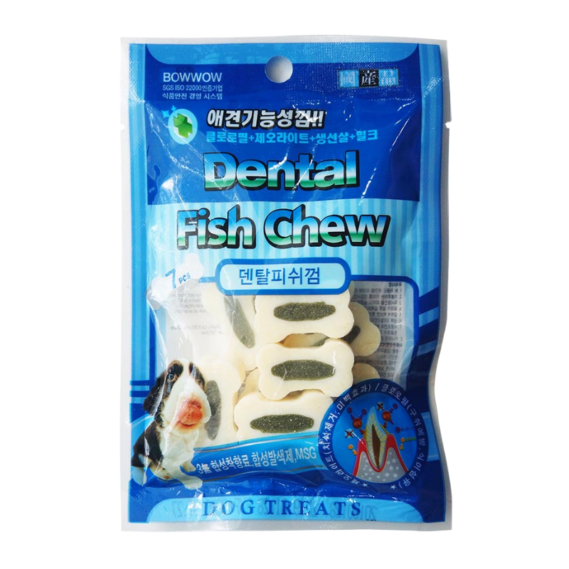 BOWWOW - Dental Fish Chew - 50g