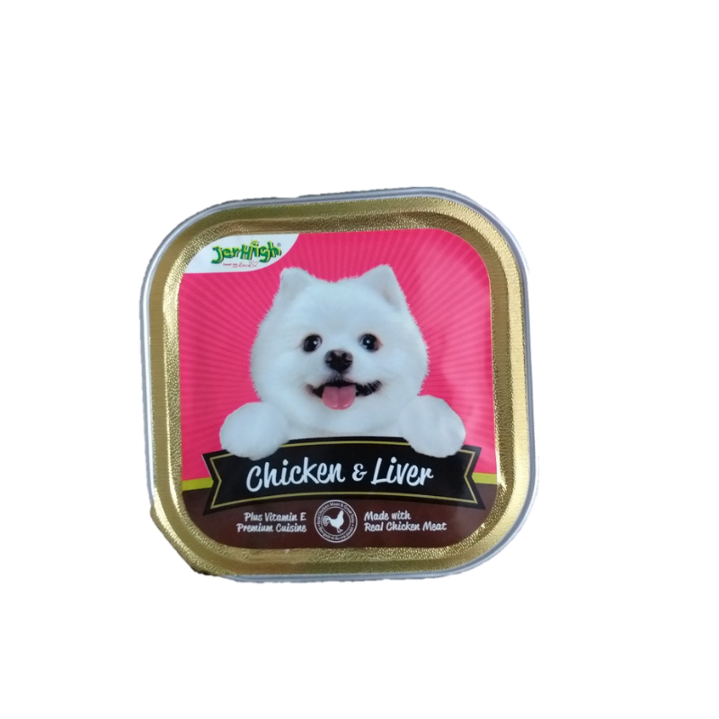 Pate chó Jerhigh - Chicken & Liver - 100g