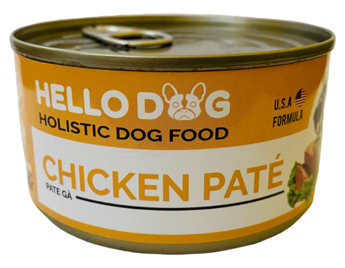 Hello Dog - Pate chicken (can - 190gr)