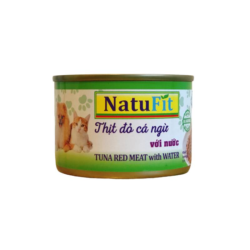 Pate chó mèo NatuFit - Tuna with water - 160g