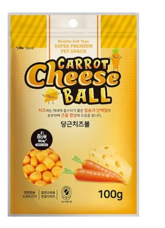 BOWWOW - Cheese ball carrot (100gr)