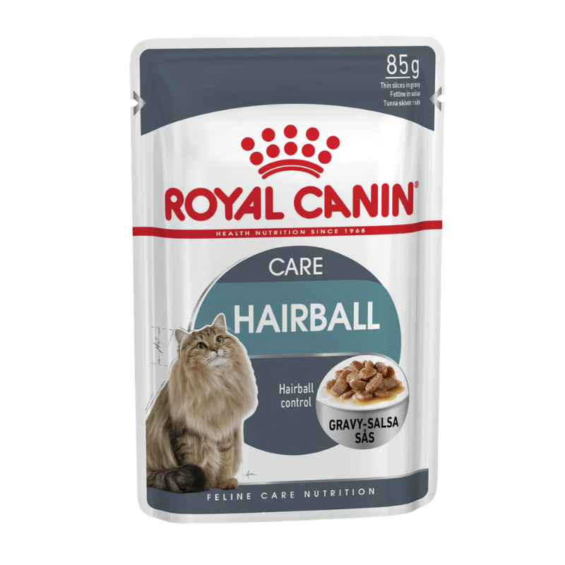 Pate mèo Royal Canin - Hairball Care Gravy - 85g