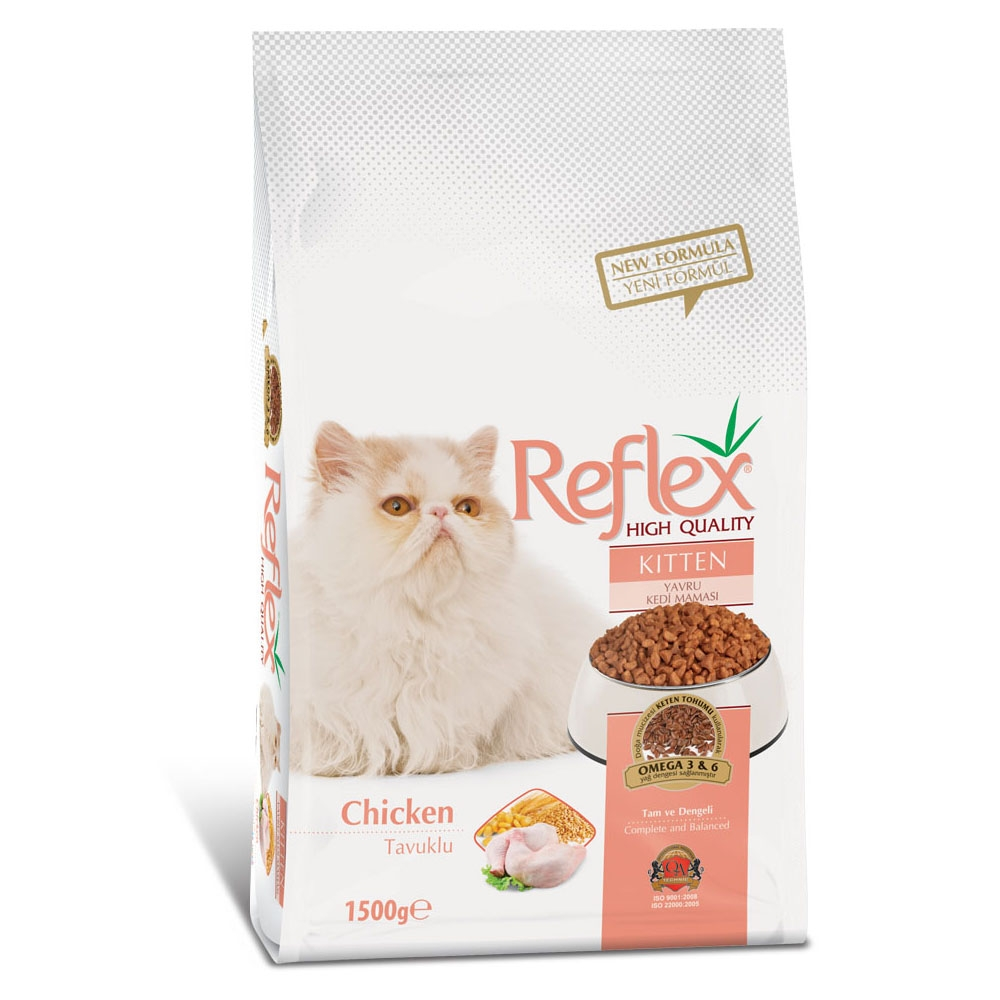Reflex Kitten Cat Food Chicken - 1.5kg