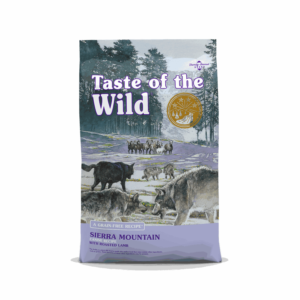 Taste of the Wild - Dog - Sierra Mountain 2kg