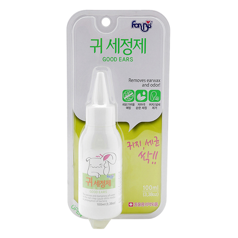 FORCANS - Dung dịch vệ sinh tai Good Ears - 100ml