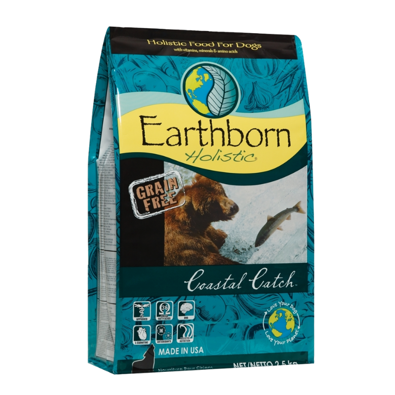 Earthborn Holistic - Coastal Catch - 2.5kg