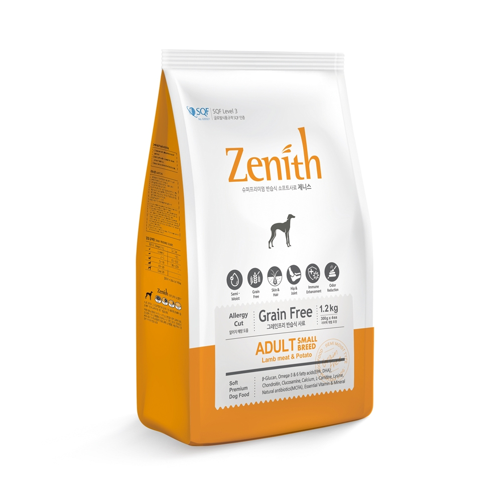 Zenith - Small breed dog (1.2kg - new packaging)