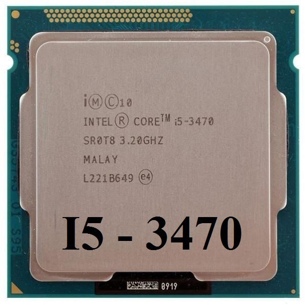 CPU CORE I5 3470 TRAY