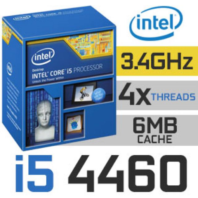 CPU Intel Core i5 4460 3.20GHz up to 3.40GHz