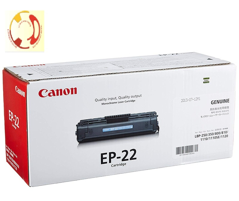 HỘP MỰC CANON ep 22