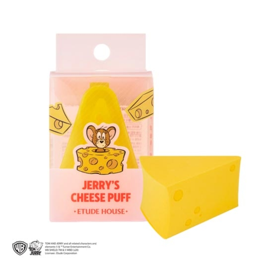 Mút Tán Kem Nền Etude House Lucky Together Jerry Cheese Puff
