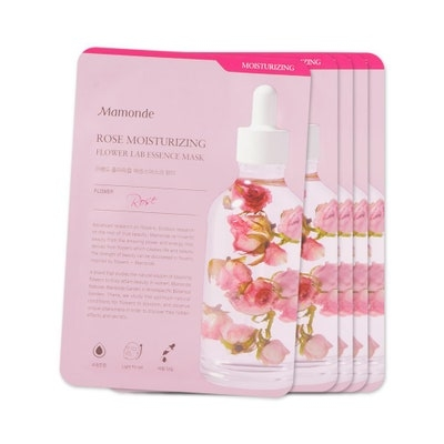 Mamonde Flower Wrap Essence Mask #Rose