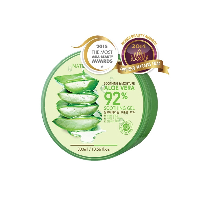Gel Lô Hội Nature Republic Soothing & Moisture Aloe Vera 92%